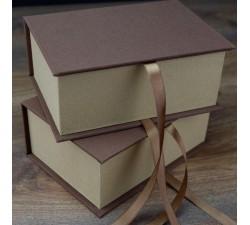 Pudełko tekstylne na zdjęcia 10x15