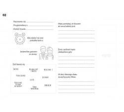 Ankieta na białych kartach w Księdze Gości